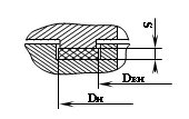 Уплотнение фланцевых соединений типа шип-паз